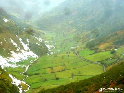 Parque Natural Somiedo;viajes con amigos turismo naturaleza españa botas montaña madrid